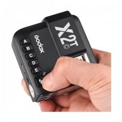 Difusor GODOX MRF-01 para flash portátil (Blanco y Plateado)  17*14cm