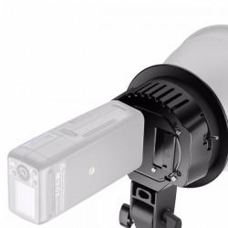 Bracket de rótula para colocar luz led sobre parante